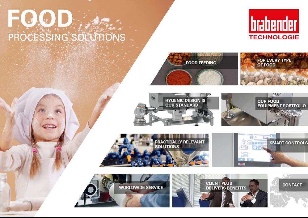 Still interactieve brochure doseeroplossingen in hygiënische processen Brabender Technologie
